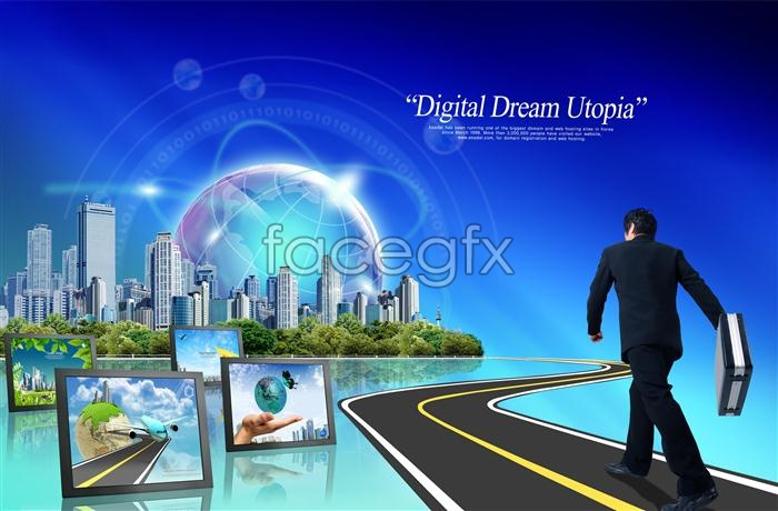 Commercial success digital technology to high direction PSD