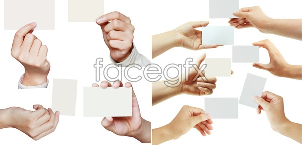 Gesture pictures PSD