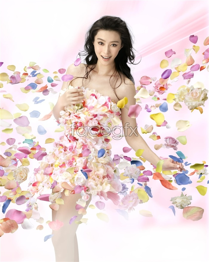 PSD fan bingbing endorsement advertisement