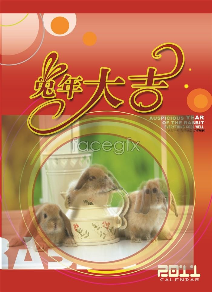 Rabbit 2011 Grand Art Design PSD