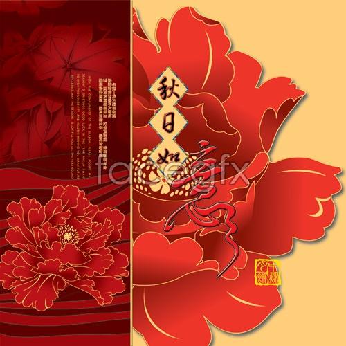 Autumn Flower Festival pictures PSD