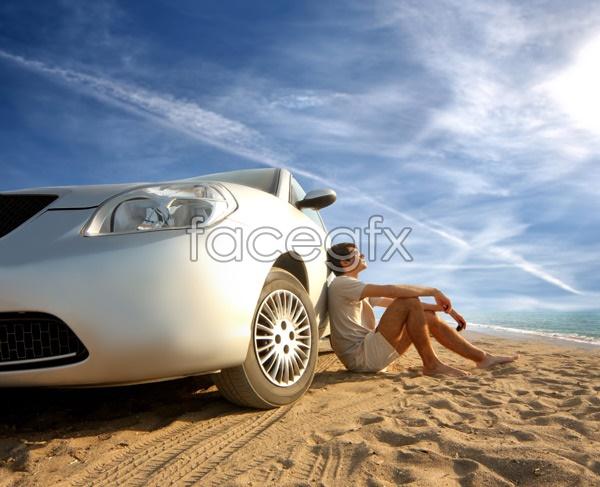Beach leisure PSD