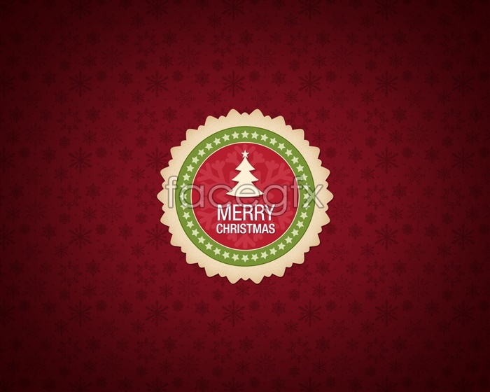 Foreign Christmas label source PSD