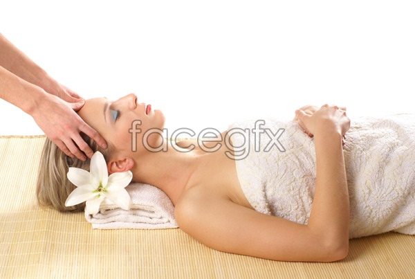 Stylish SPA pictures 11 PSD