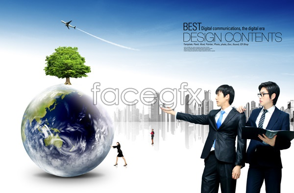 Business prospects for men 2 PSD