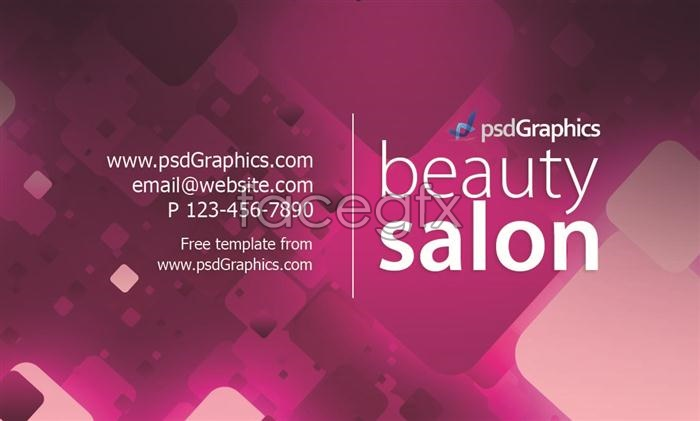 Contemporary and stylish business card business card design PSD