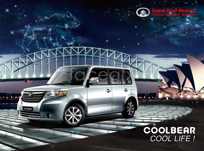Great Wall Motors advertising PSD
