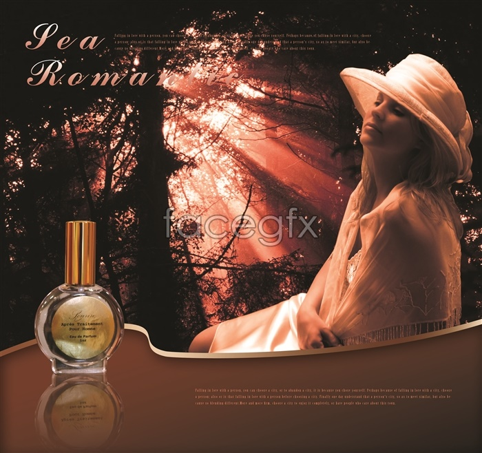 France FEA fire aromatherapy essential oil ad-free templates PSD