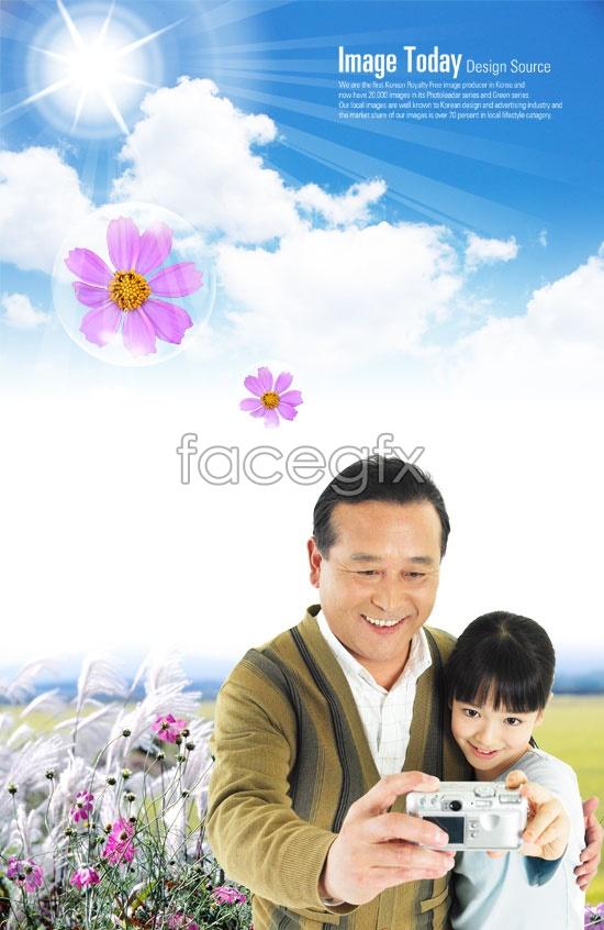 Korea family figure 1 PSD