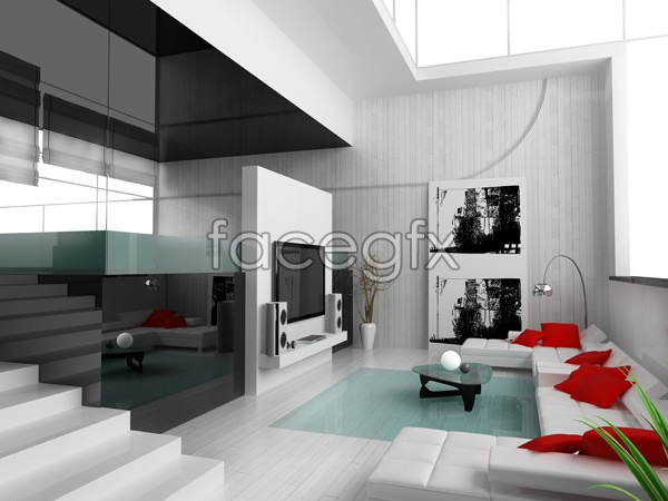Beautiful Home Interior 8 PSD