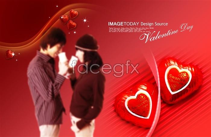 Soul mates Korea Valentine PSD
