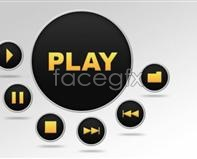 Player interface design PSD