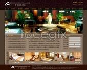 Zheng Fei Hotel International website PSD