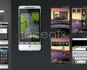 WDS Android GUI full PSD source files