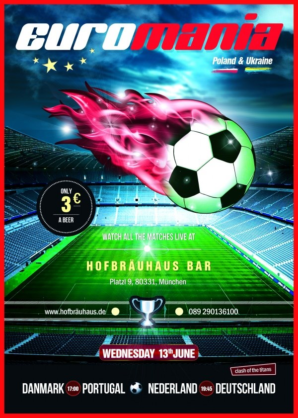 Football poster design source files PSD free