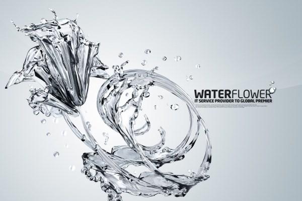 Crystal spray patterns PSD