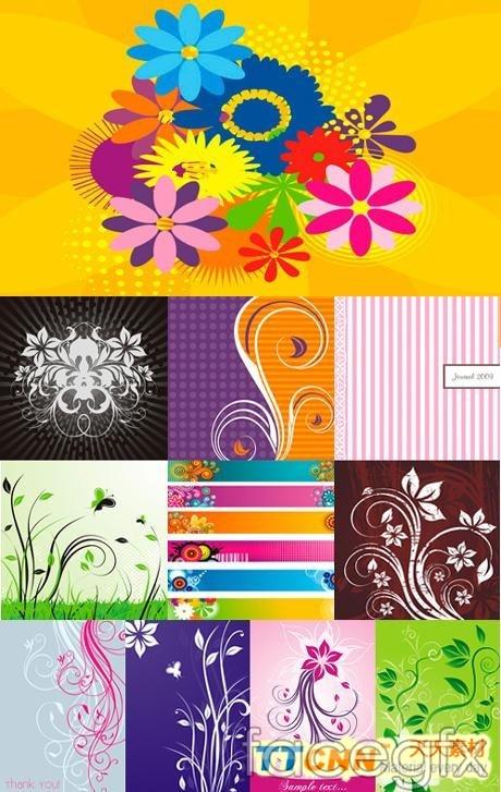 Fashion design decorative pattern vector