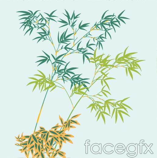 Bamboo plants bamboo plants vector