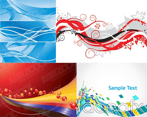 4 dynamic background vector -2