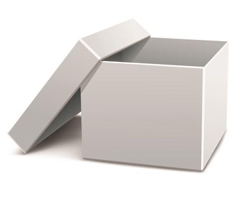 Set of Pizza boxes design elements vector 02