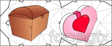 25 practical packing cutting vector design