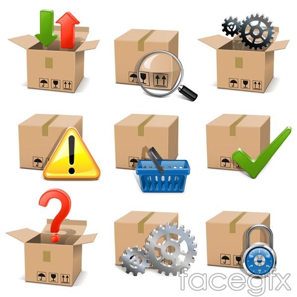 Carton vector design