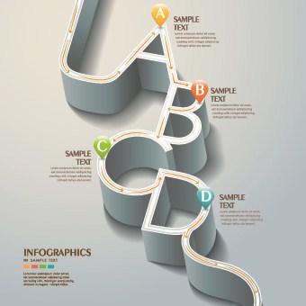 Business Infographic creative design 709 vector