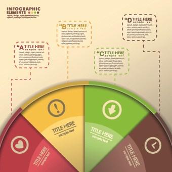 Business Infographic creative design 724 vector