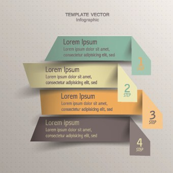 Business Infographic creative design 738 vector