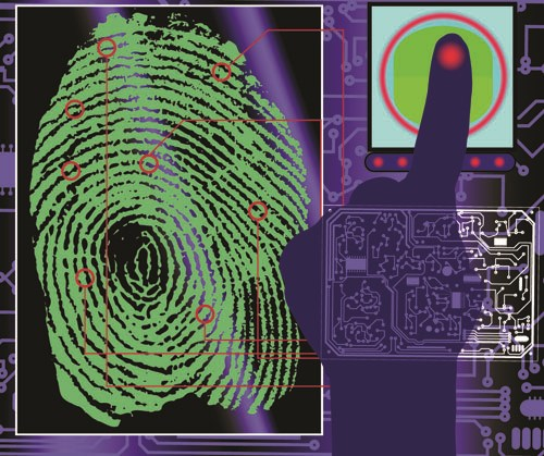 Set of Fingerprint identification vector 05