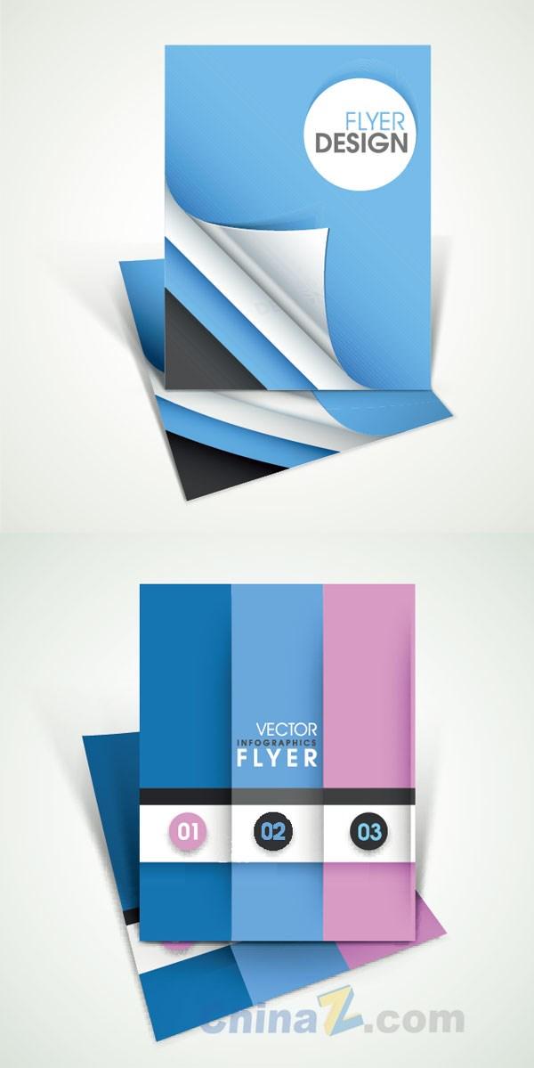Album cover design pure color simple vector