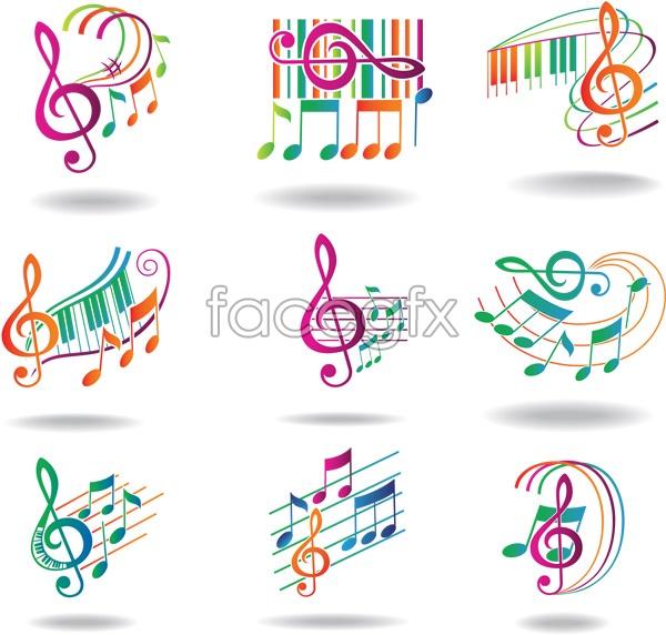 Dynamic notes vectors