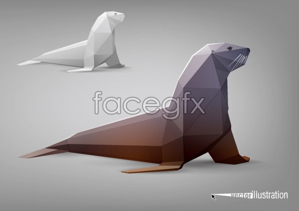 Elevation of the sea lions vector
