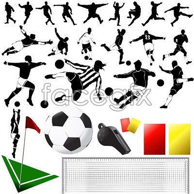 Football element vector