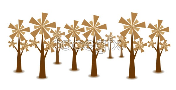 Tree vector material