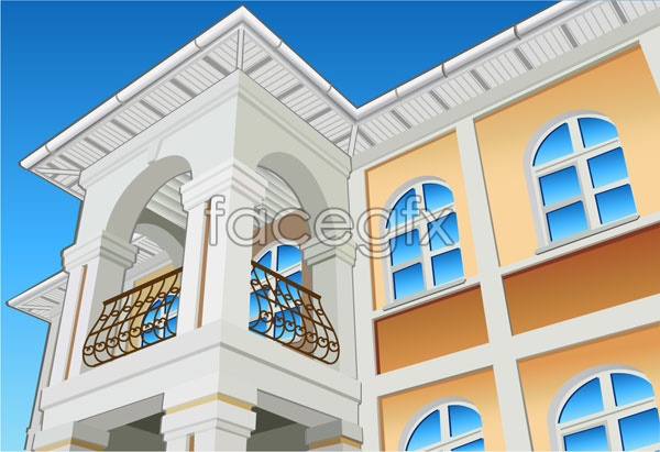 Architectural series vector-2