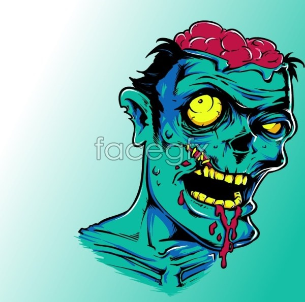 Zombies vector material