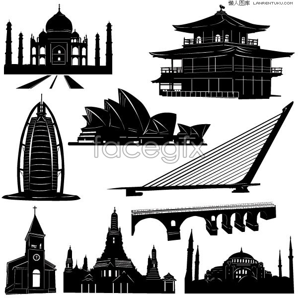 Famous Architectural Buildings Around The World