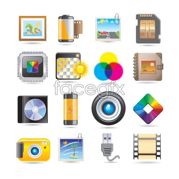 Beautiful Gadgets Icon Rgb Color Wheel Vector Free Download