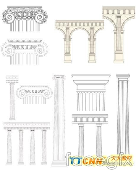 Classic European stigma vector design