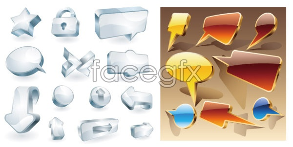 Cool stereo icon vector