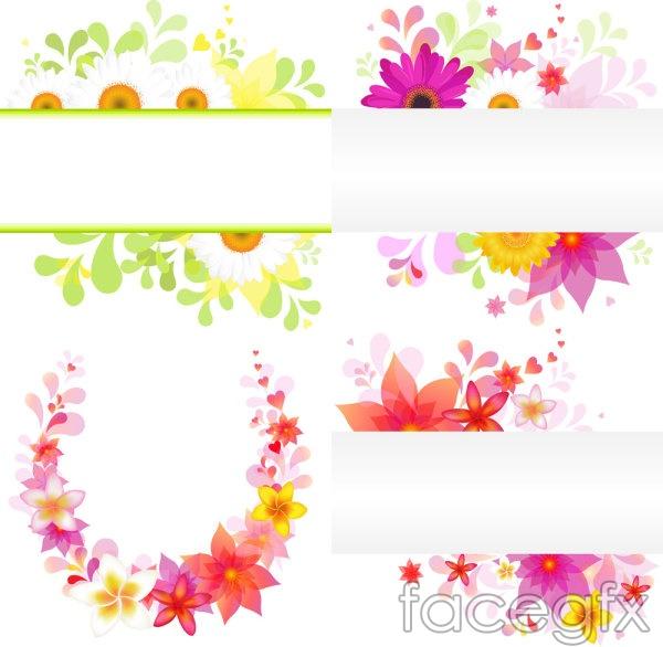 Gorgeous flower flowers petal color vector