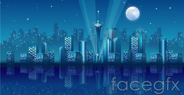 Skyline design vector