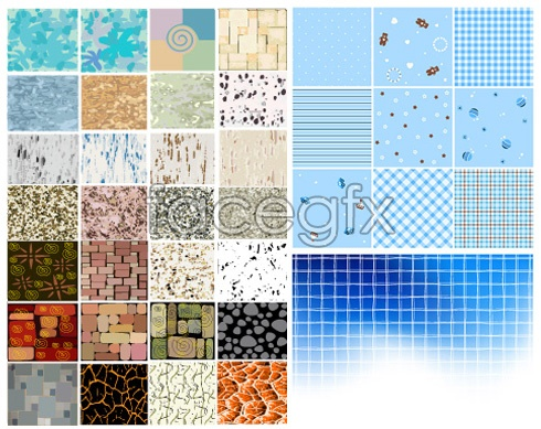Special background of the various background vector wall brick wall