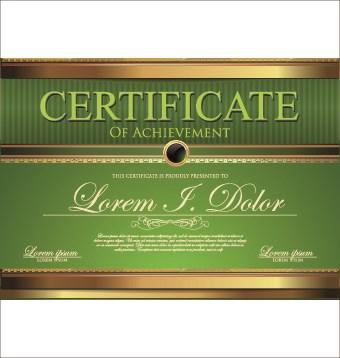 Modern certificate creative design vector set 06