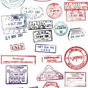 Different passports template vector 02