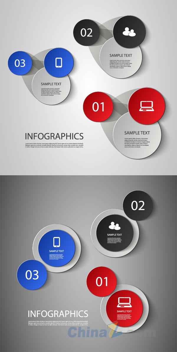Round label vector design