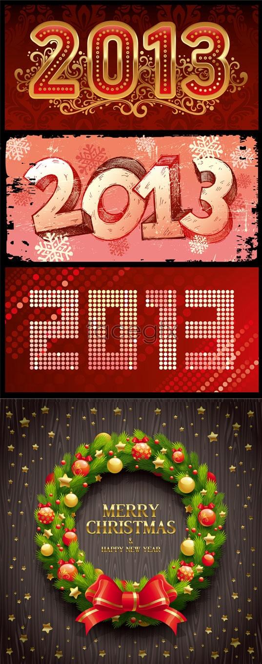 2013 Christmas design Vector