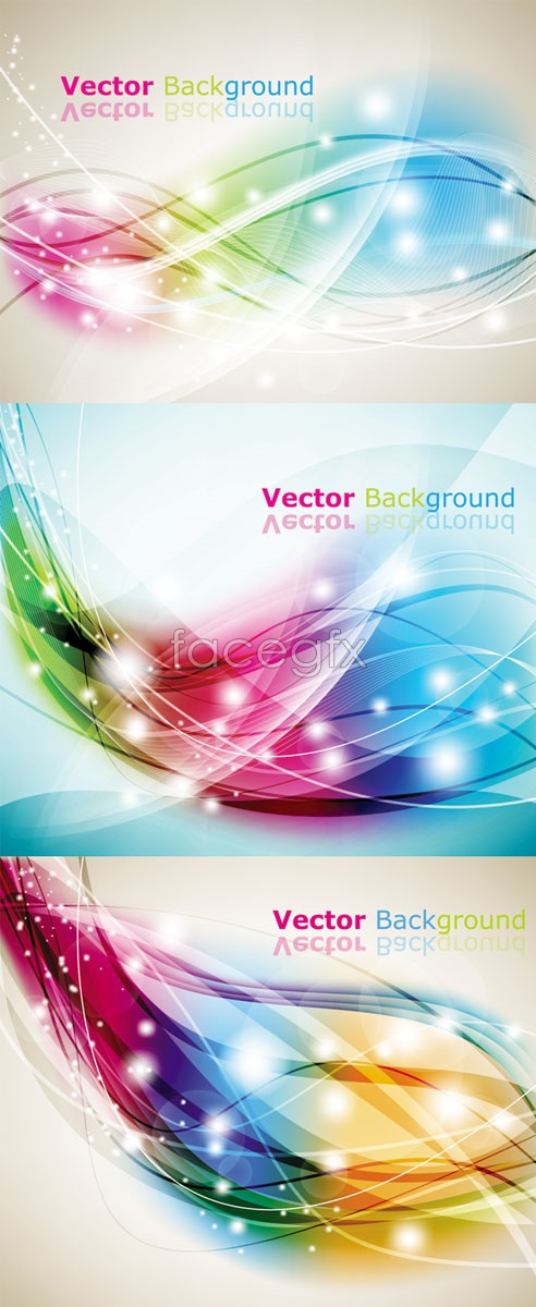 Dream City lines background Vector