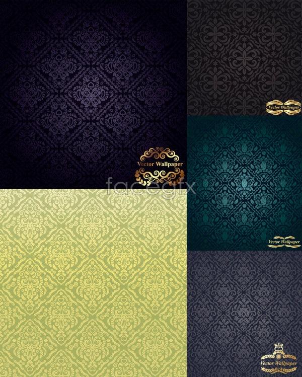 European classical shades Vector